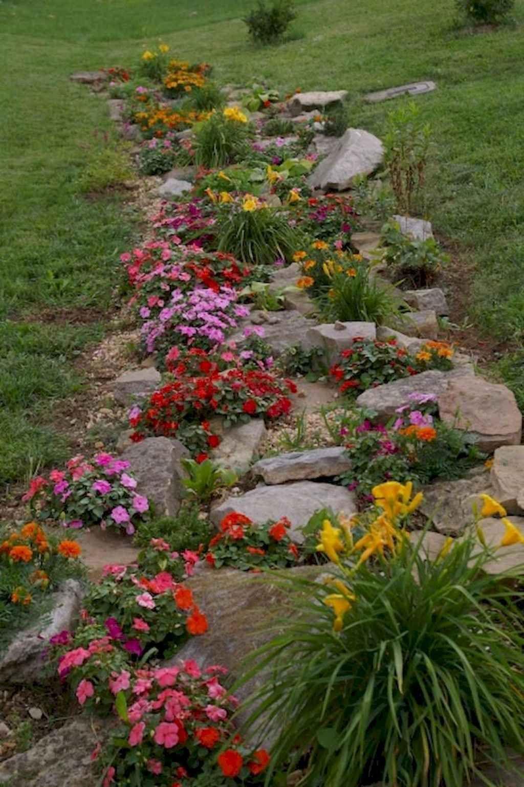 83 Front Yard Rock Garden Landscaping Ideas