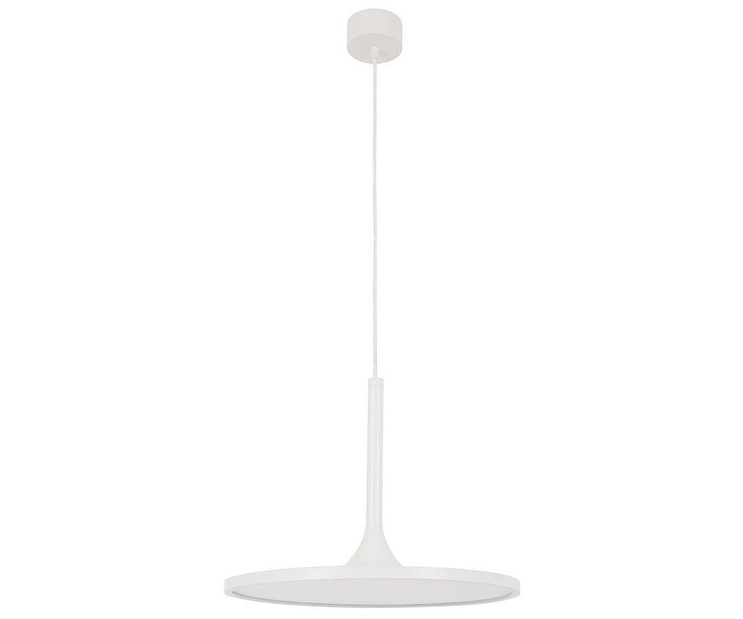 Ledlux circa lumen dimmable pendant in white pendant lights