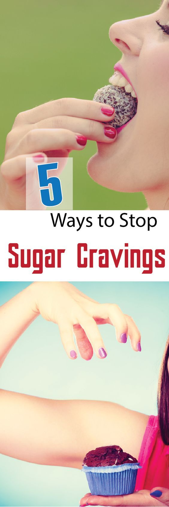 5 Things You didn't Know That Will Stop Sugar Cravings  #wieghtloss  #fitness