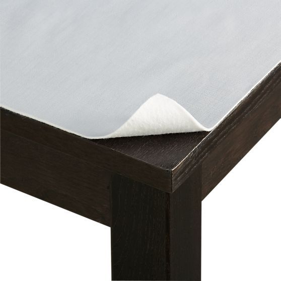 Table Pad In Dining Tables Crate And Barrel Table Pads Dining