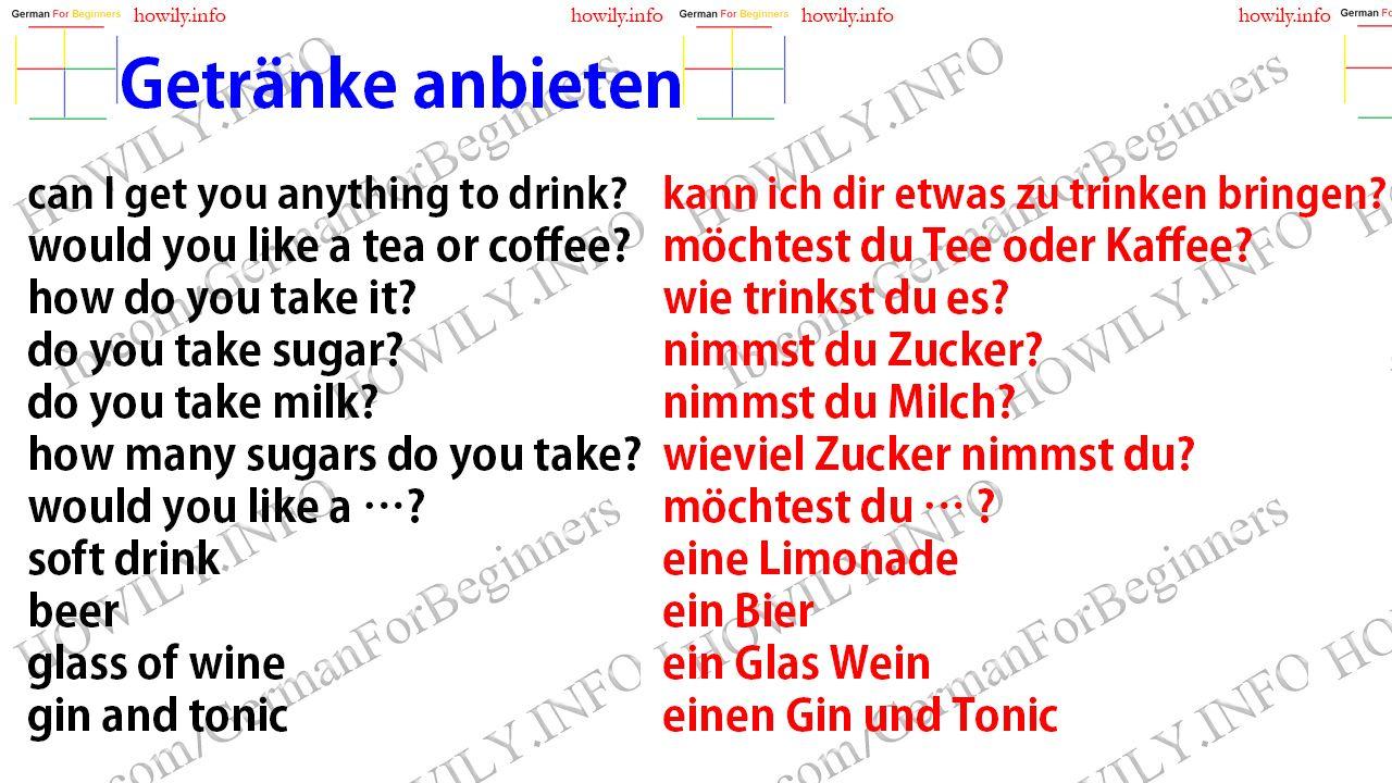 Die Aufforderung auf Deutsch. The request in German. come in! herein ...
