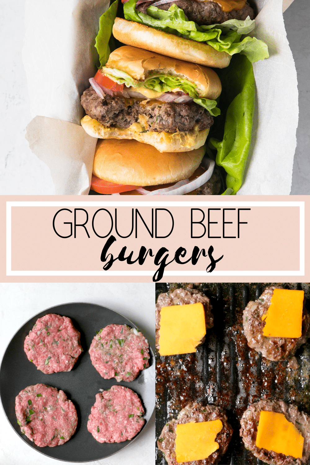 A Classic Crowd Pleasing Ground Beef Burger I Call It The Purist S Burger Incredibly Tasty Moist And In 2020 Burger Recipes Beef Beef Burgers Healthy Burger Recipes