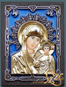 Купить бронзовую икону Казанской Богородицы с бесплатной ...