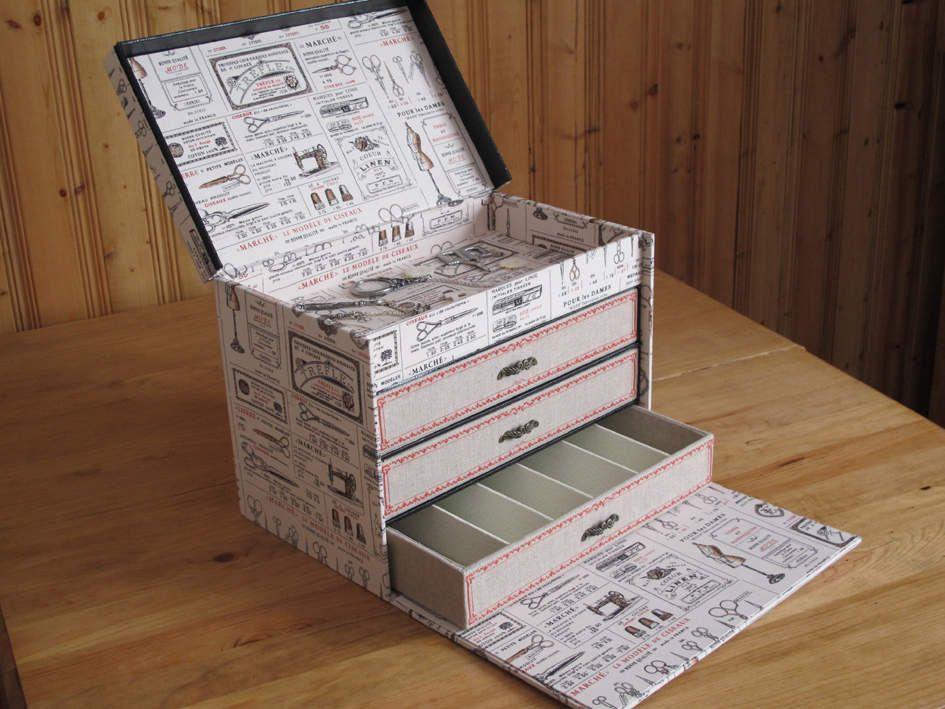cartonnage boite fils cartonagem caixas. Black Bedroom Furniture Sets. Home Design Ideas