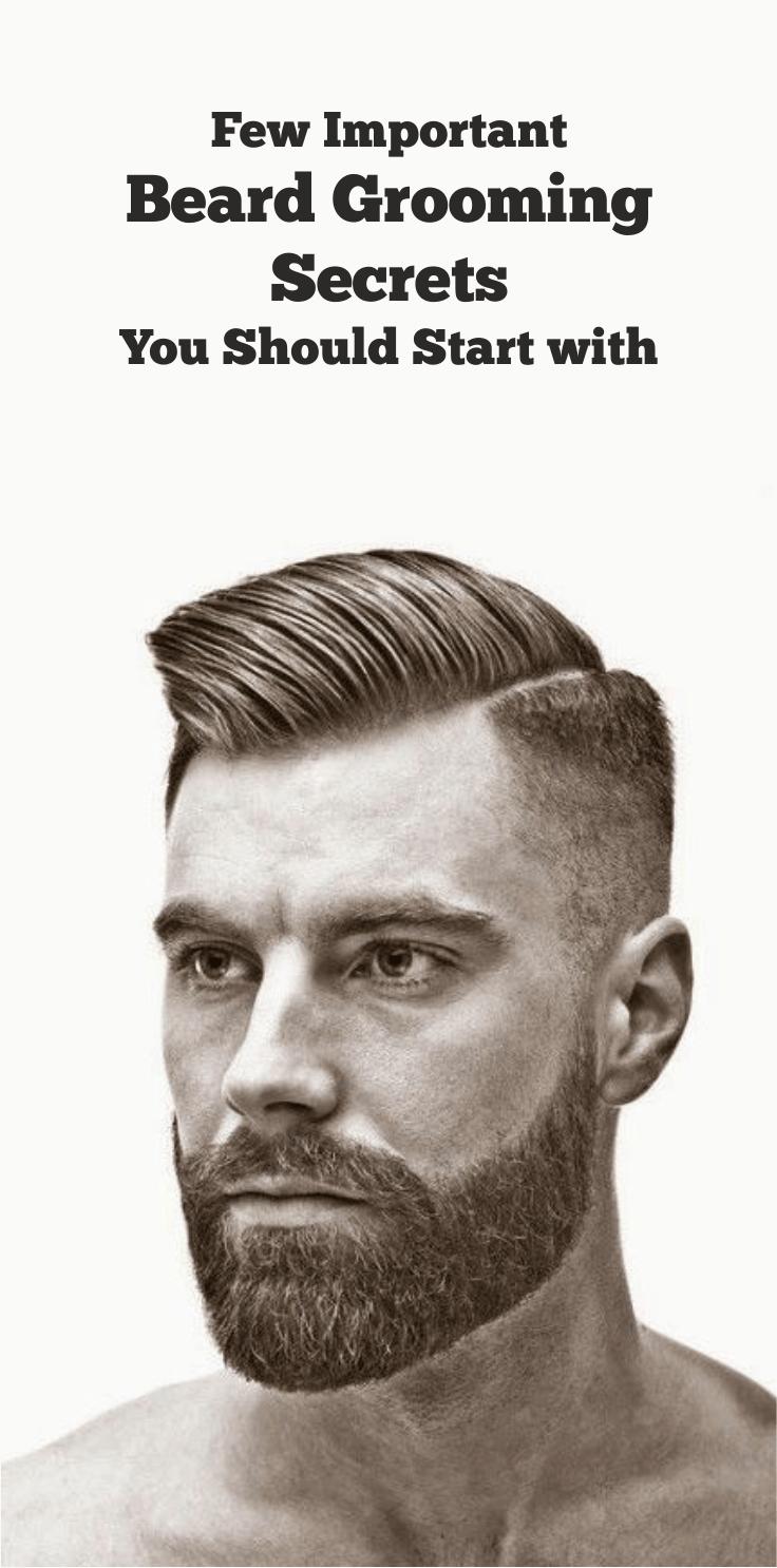 Few Important Beard Grooming Secrets 2 Start With Hair Cuts