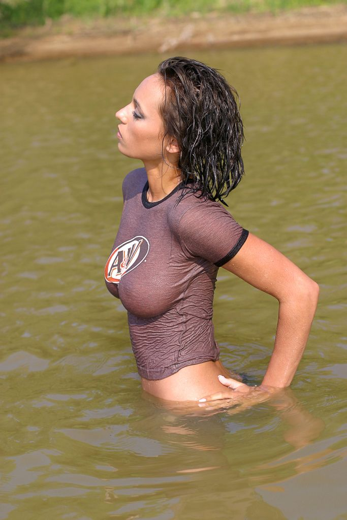 Wetsuit girl nude hot tits