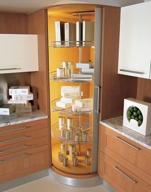 Soluciones para cocinas que hacen esquina ideas for home - Mueble esquinero cocina ...