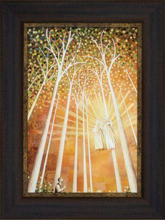 first vision | ... Art > Framed Art > The First Vision (18x24 Framed ...