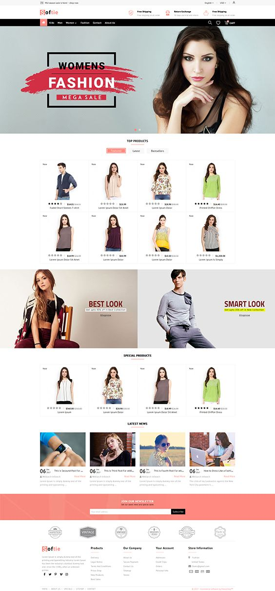 Shofte the fashion store template is a good choice for selling shofte the fashion store template is a good choice for selling fashion pronofoot35fo Choice Image