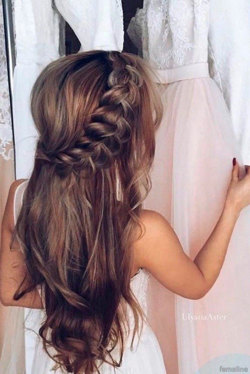 Elegant bridal hairstyles for long hair bridal hairstyle