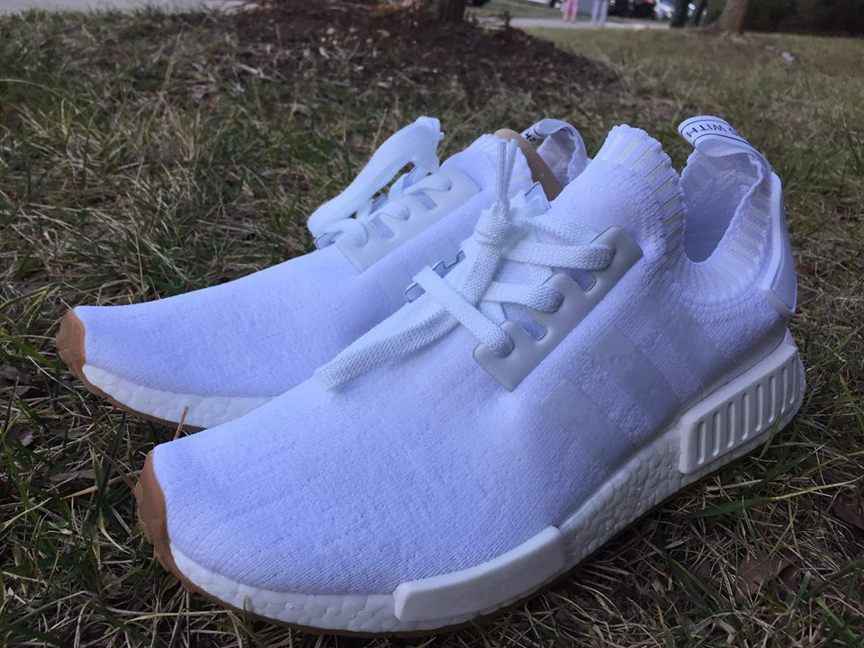 2d43faffee940 A Closer Look At The White Adidas NMD R1 PK Gum Pack BY1888