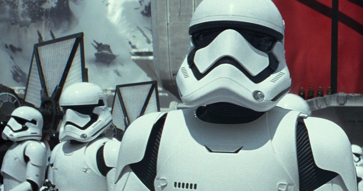 'Star Wars 7' Has Few Shots That Are Completely CGI -- Almost every shot in 'The Force Awakens' will have a practice element to them when the movie hits screens this December. -- http://movieweb.com/star-wars-7-force-awakens-cgi/
