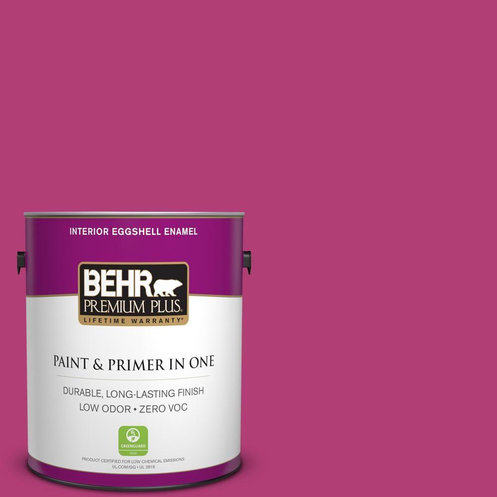 BEHR Premium Plus 1-gal. #P120-6 Diva Glam Eggshell Enamel Interior Paint
