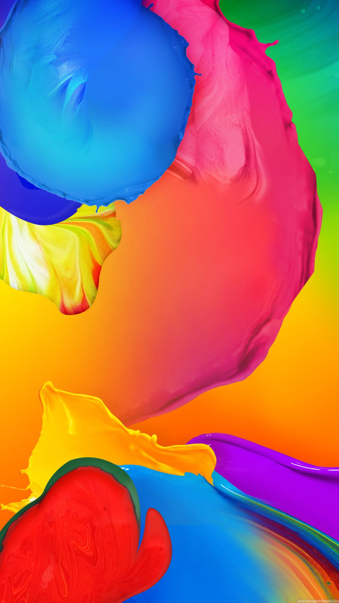 Color Watercolor Background H5