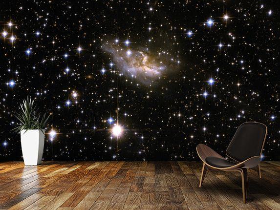 Hubble Interacting Galaxy Eso 99 4 Mural Wallsauce Uk Wallpaper Designs For Walls 3d Wallpaper Designs For Walls 3d Wallpaper Design