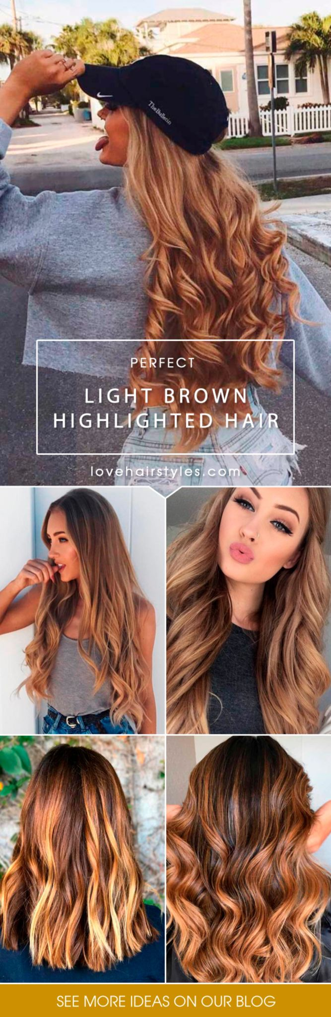 38 Light Brown Hair Color With High And Low Lights Hair
