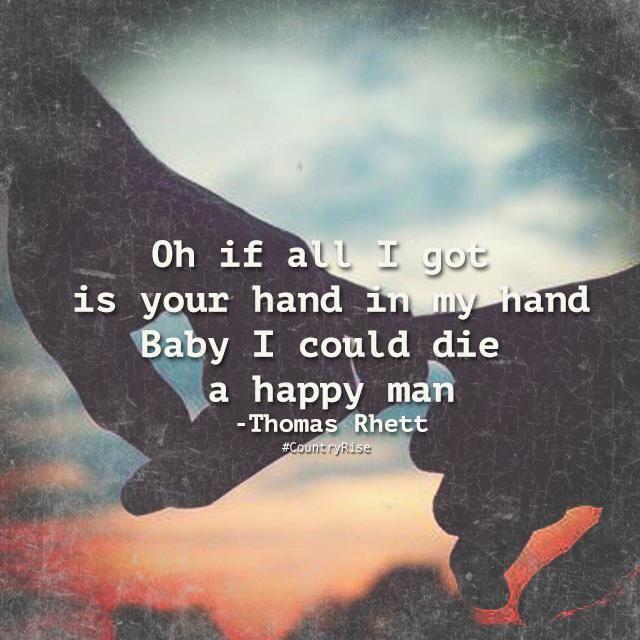Upbeat Country Love Songs: Die A Happy Man - Thomas Rhett