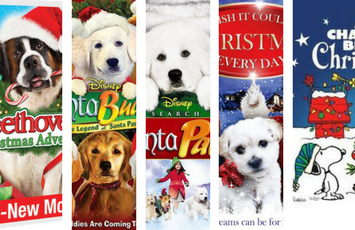 A List Of Top Doggy Christmas Movies To Watch Over The Christmas Weekend Christmas Dog Christmas Movies Doggy