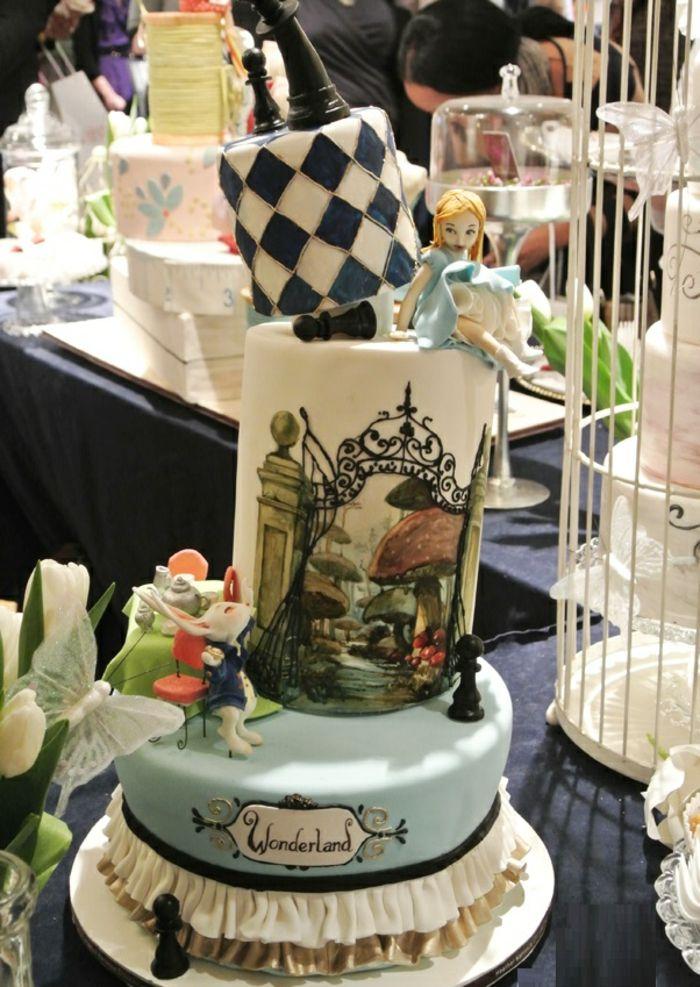 Alice Au Pays Des Merveilles Disney Film Qui Inspire Deco Festive Archzine Fr Alice Au Pays Des Merveilles Gateau Alice Au Pays Des Merveilles Mariage Gateaux Fous