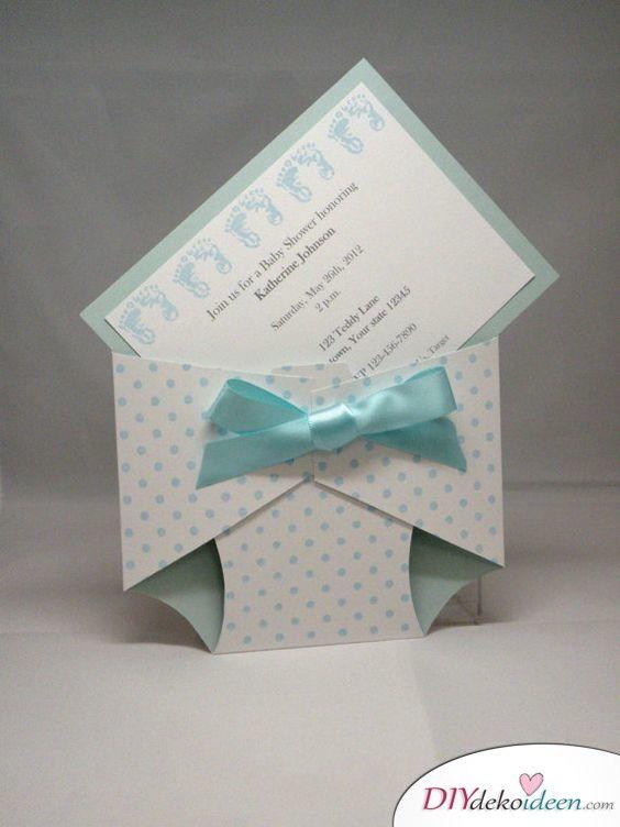 pin on babyparty einladungskarten zum selbermachen