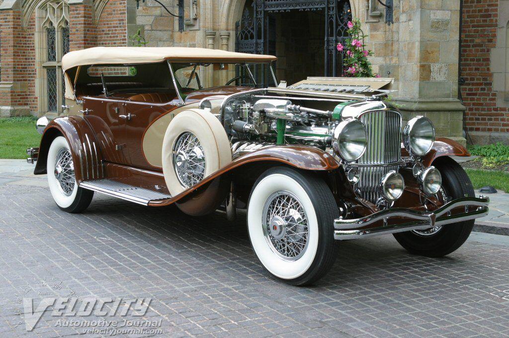 1932 Duesenberg LeBaron Dual Cowl Phaeton information