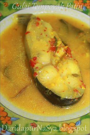 Gulai Tempoyak Ikan Patin Makanan Resep Masakan Malaysia Gulai