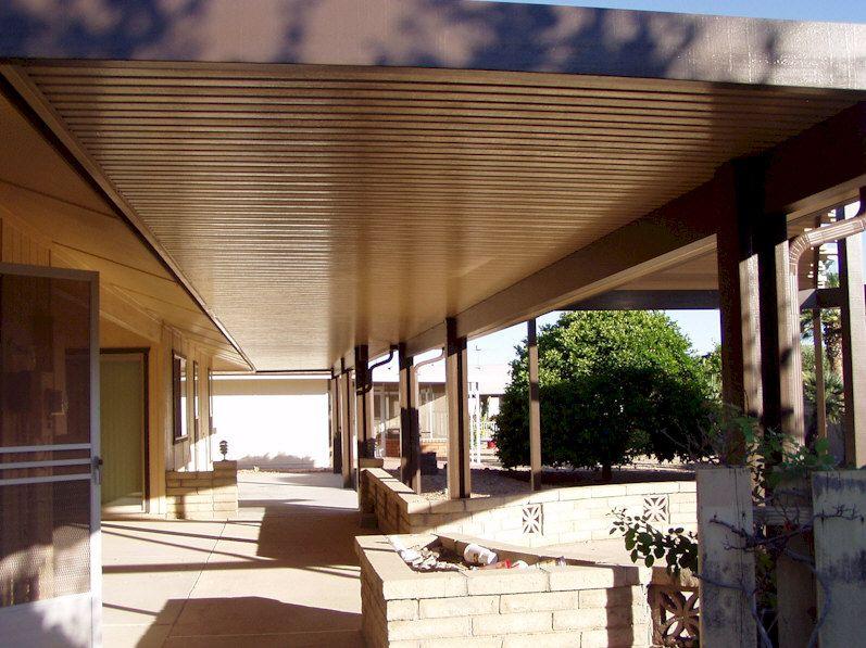 Alumawood Newport Solid Patio Cover Patio shade