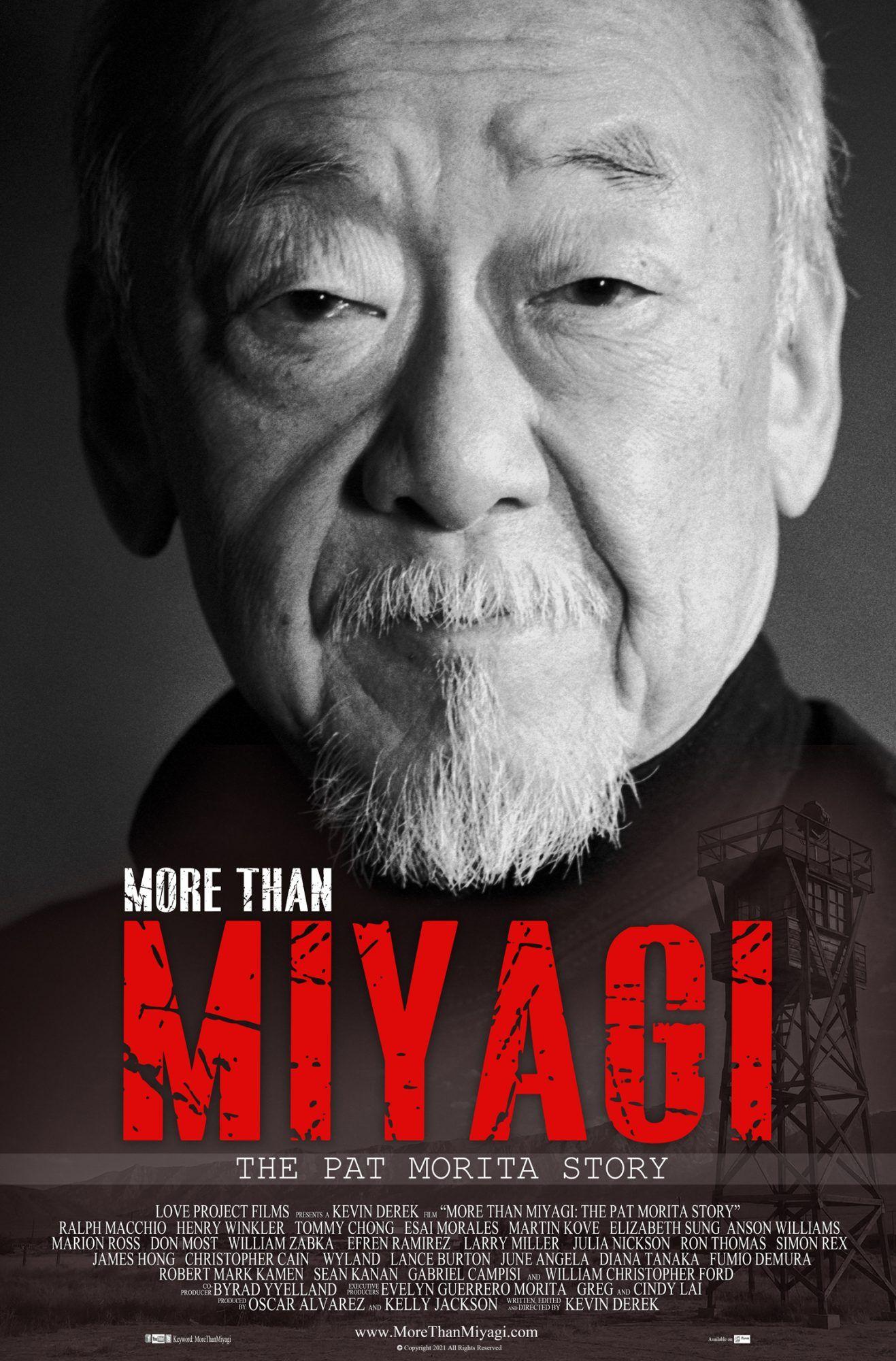 More Than Miyagi Trailer New Documentary Explores Pat Morita S Life And Career In 2021 Miyagi Documentaries Oscar Nominated Actors