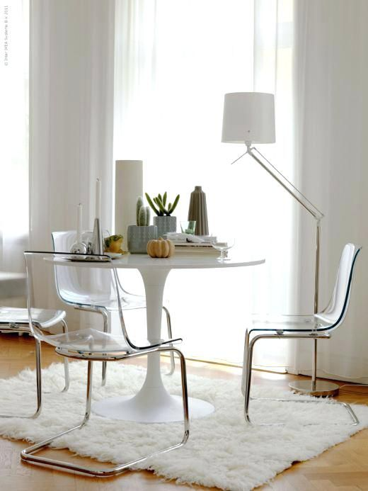 Ikea Clear Lucite Chairs Find This Pin And More On Ikea Tobias Chair By Fleurdesmetfds Ikea Lucite Chair Ikea Clear
