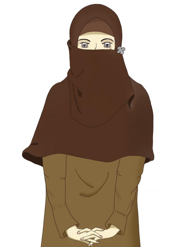Anime Niqabi (Dengan gambar) Animasi, Kartun, Niqab