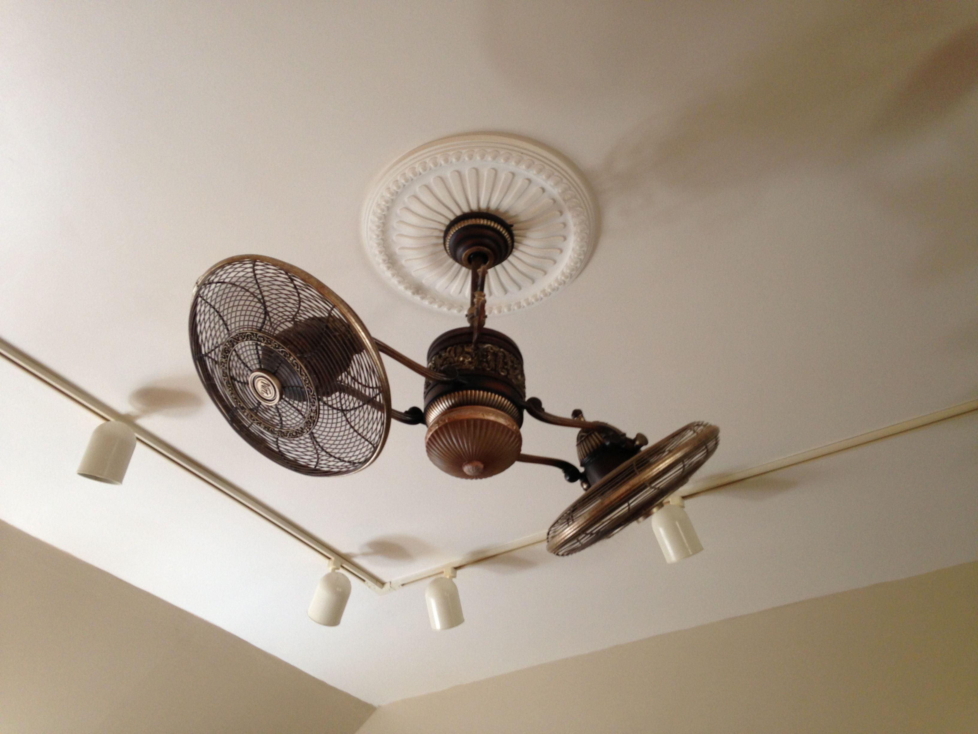 Cool Old School Ceiling Fan Idea bar ideas Pinterest