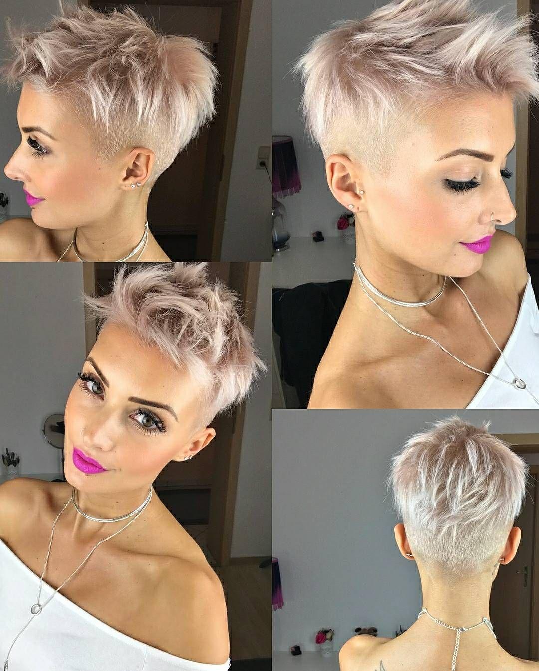 Pin Von Rena Auf Kurze Blonde Haare Frisuren Kurz