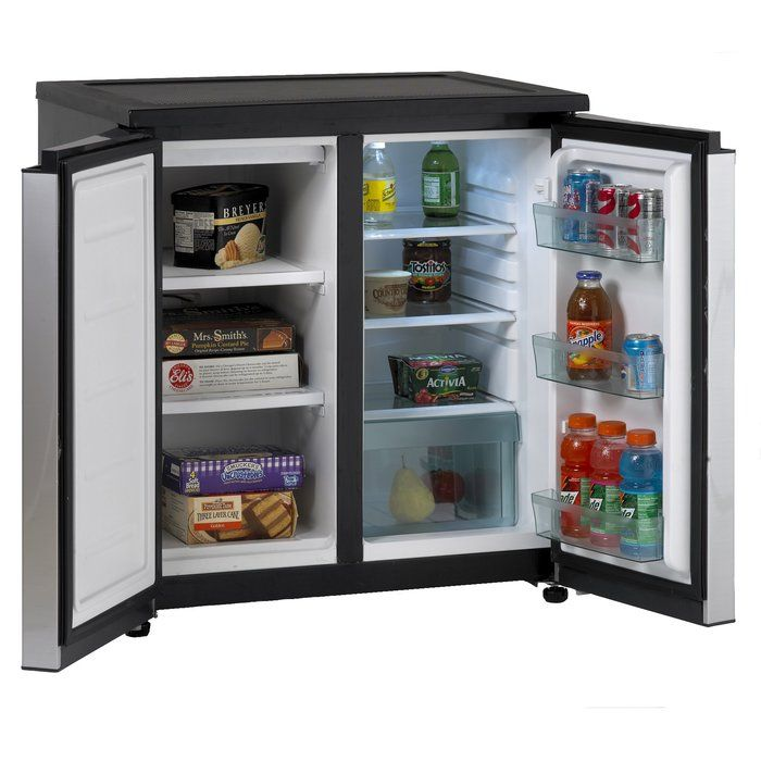 5 5 Cu Ft Freestanding Mini Fridge With Freezer Mini Fridge