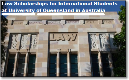 Law Scholarships (Undergraduate) for International ...