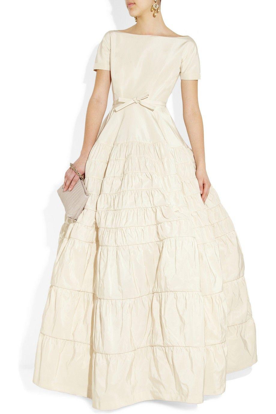 Rochas, Taffeta-twill gown, Size 6 Wedding Dress   Gowns, Wedding ...