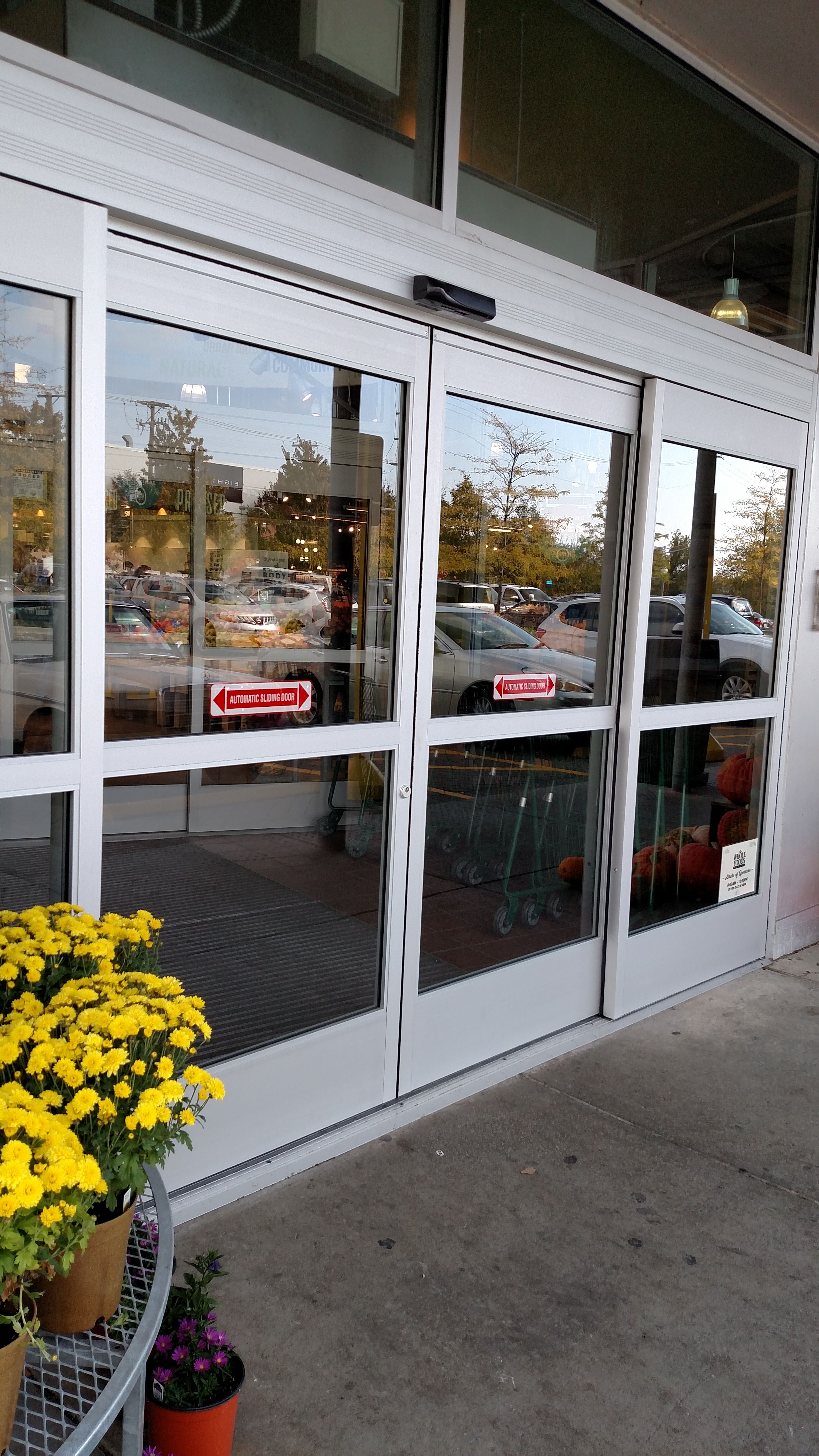 Automatic Sliding Doors By Preferred Window And Door Automatic Sliding Doors Window Installation Windows And Doors