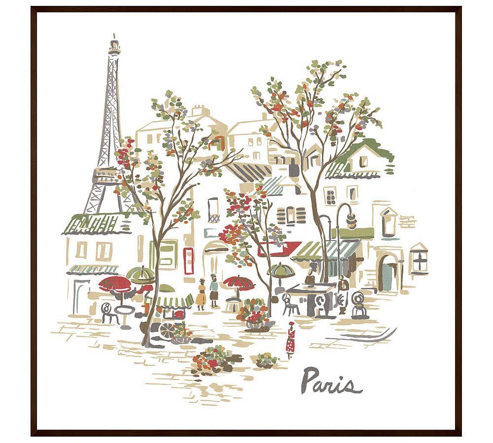 Paris, 48 x 48\