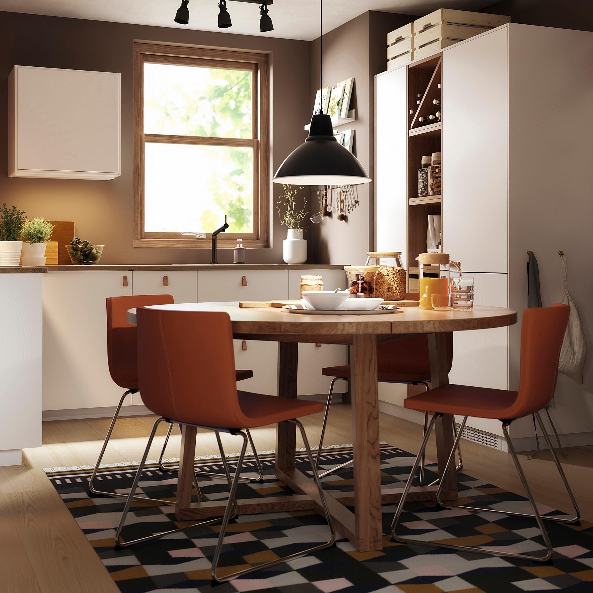 Morbylanga Tisch Eichenfurnier Braun Las In 2019 Products Tisch