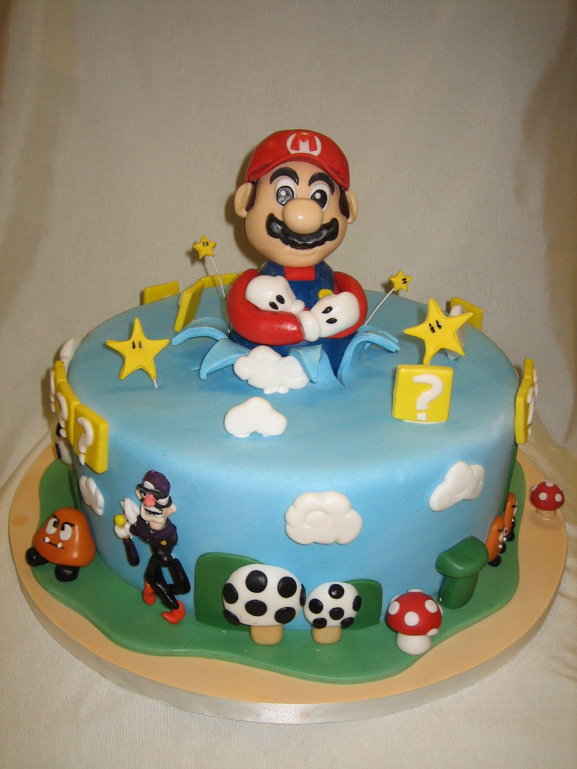 Amy Beck Cake Design - Chicago, IL - Super Mario birthday cake ...