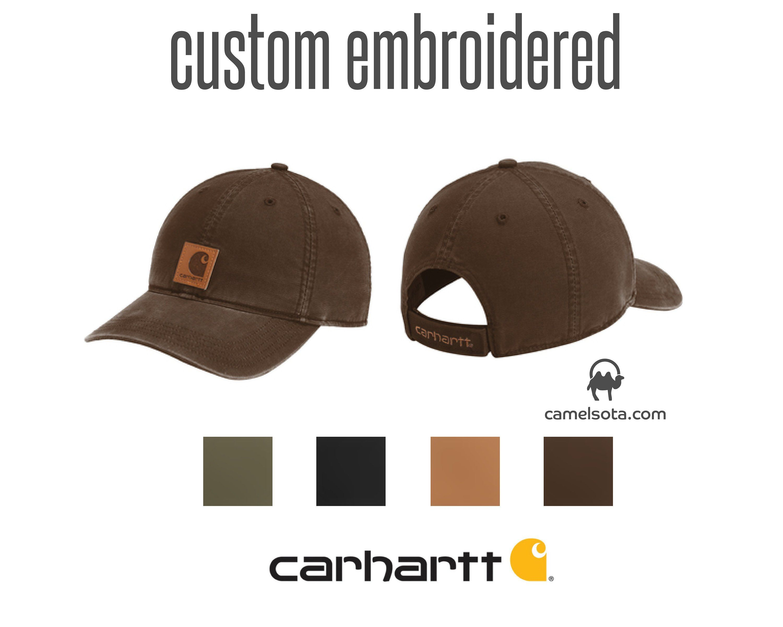 fe0dc4683dd52 Custom Carhartt Odessa Cap