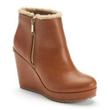 Juicy Couture Women's Wedge Ankle Boots SALE $39.99 | Kohl's ...