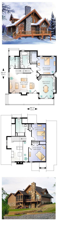 Hillside House Plan 65246 Total Living