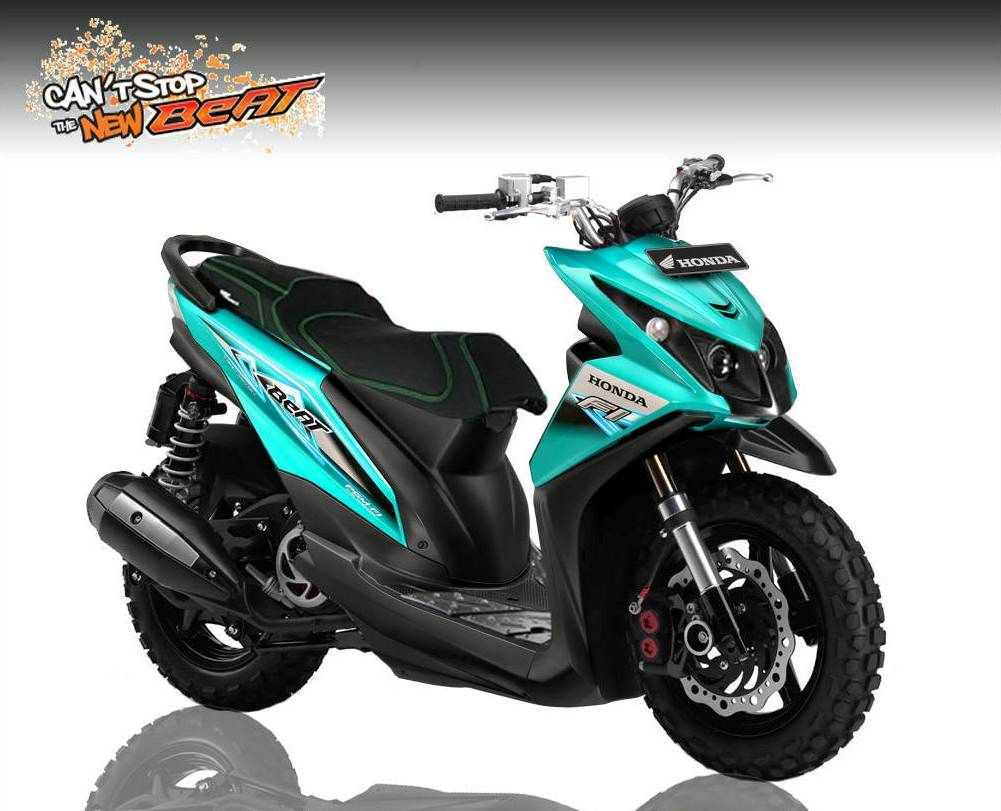 Modifikasi Motor Honda Beat Modifikasi Motor Terbaru Pinterest