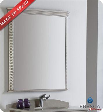 Fpmr7524sa Decor Planet Silver Bathroom Mirror Wall Bathroom Mirror Wall Bedroom