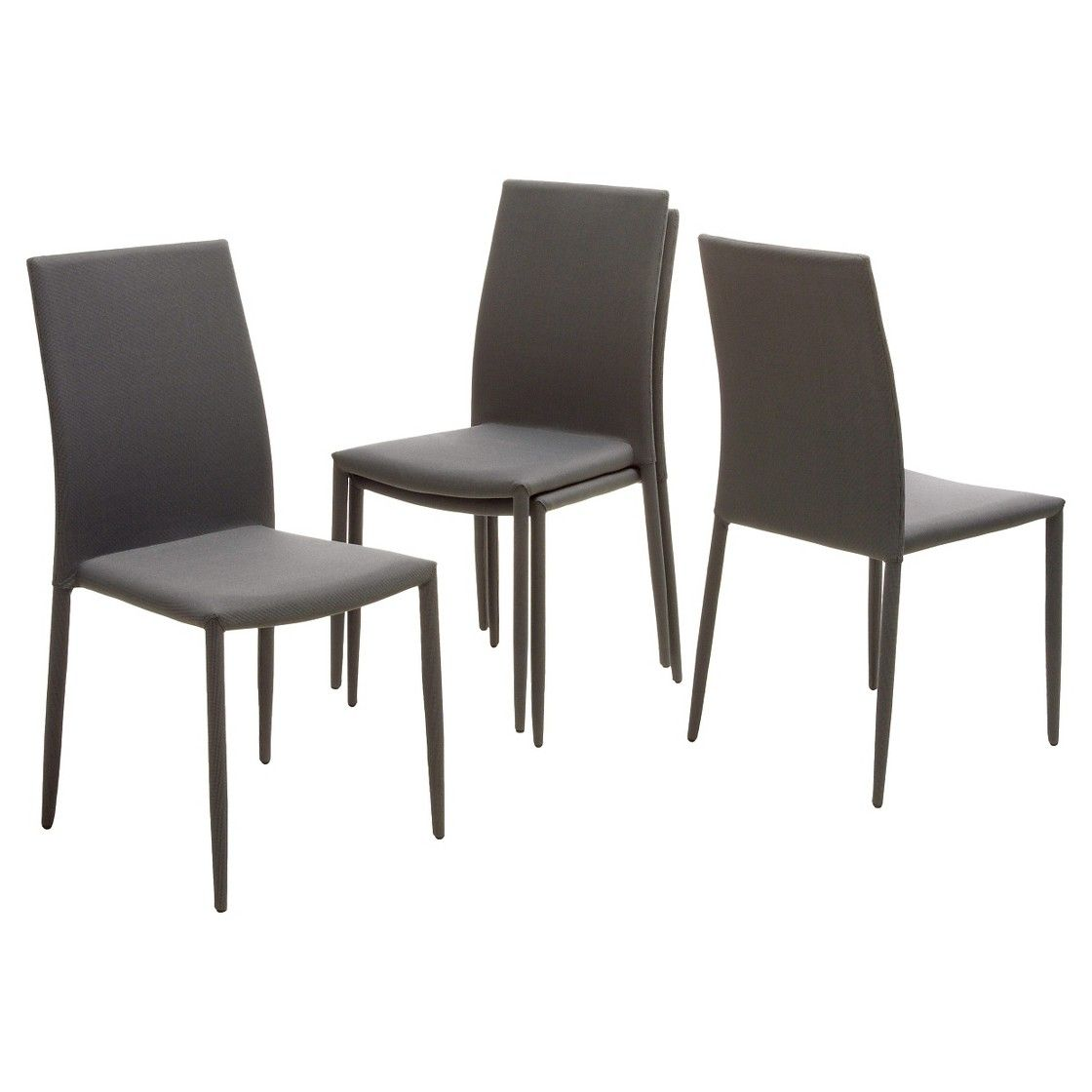 Christopher knight home wayfield dining chair charcoal tweed set of 4
