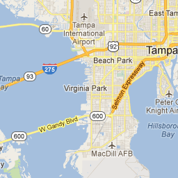 tampa bay - Google Maps | Map, Places