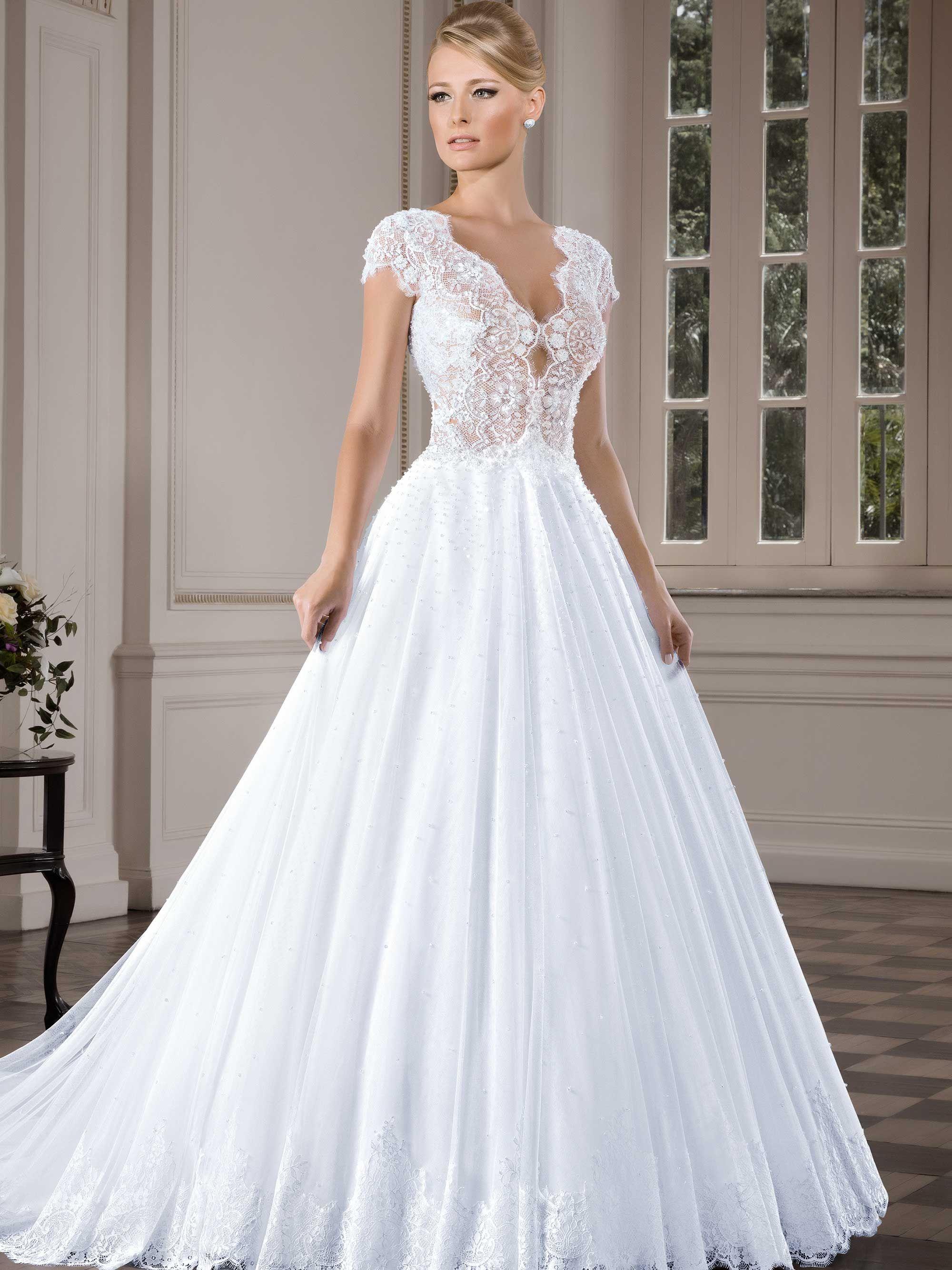 Conhe a mais sobre esta cole o de vestidos de noiva for Wedding dresses in delaware