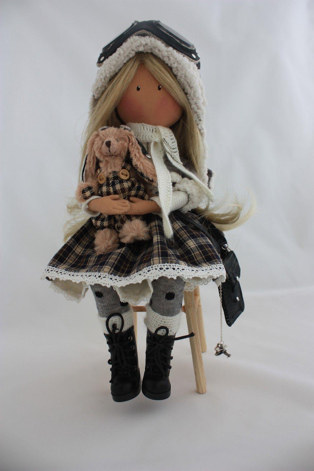 Куклы модели ручной работы поздравление девушки с днем рождения на работе