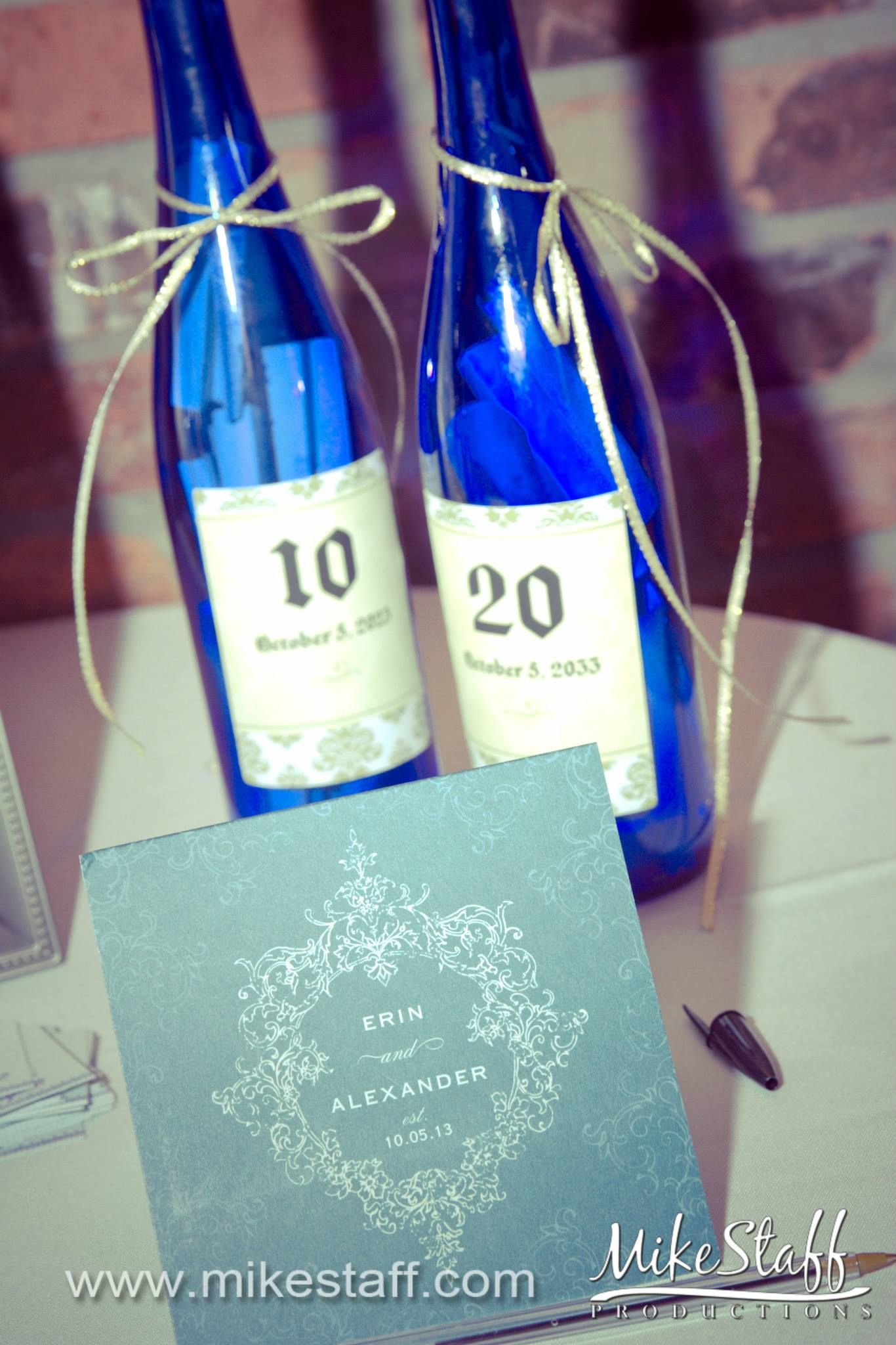 beauty and the beast wedding invitations and anniversary bottles