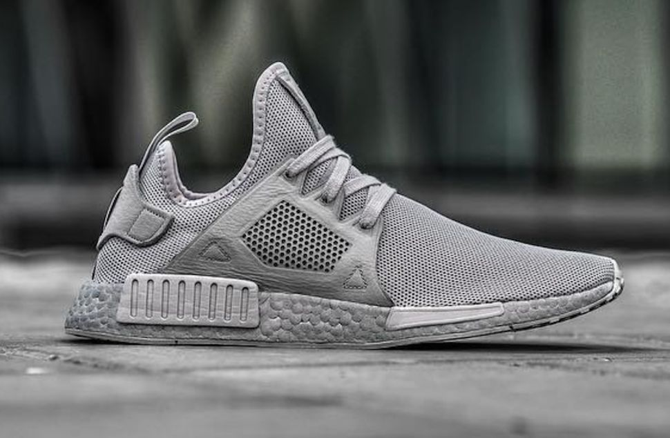 db504ae0ac9a8 A First Look at the adidas NMD in Tonal Grey With a Striking